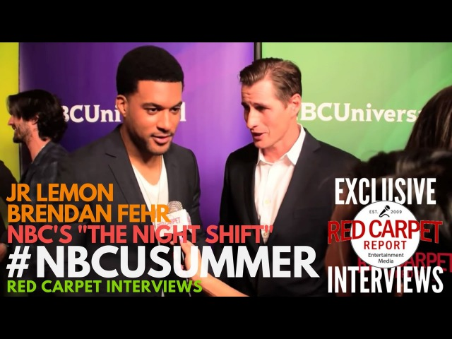 JR Lemon Brendan Fehr interviewed at NBCUniversal's Summer 2017 Press Day