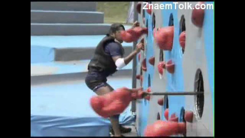 ✔Водное шоу 23 фев эпиз 17 часть 1 Zor Ka Jhatka Total Wipeout 2011 г