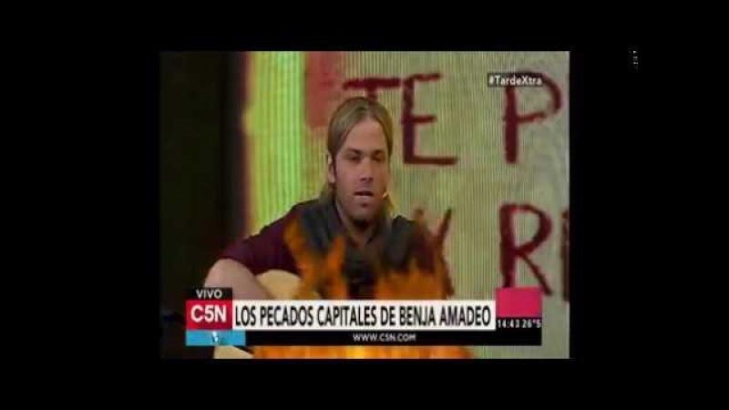 Benjali Benjamín Amadeo habló de su relación actual con Lali Esposito Con Lali me llevo muy bien