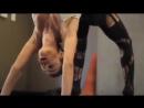 Йога, спортсменка, мотивация спорт, шикарное тело гимнастка