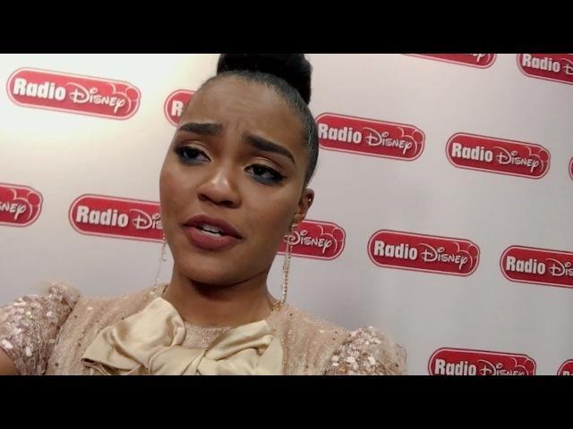 Thomas Doherty Watches China Anne McClain's Bad Pirate Joke Descendants 2 Radio Disney