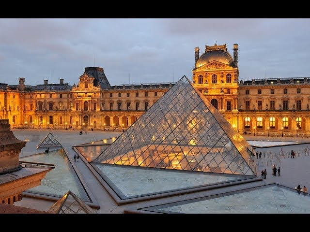 Лувр Париж Франция Louvre Paris France