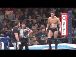Crossface Davey Richards vs. Prince Devitt (Finn Balor) - NJPW