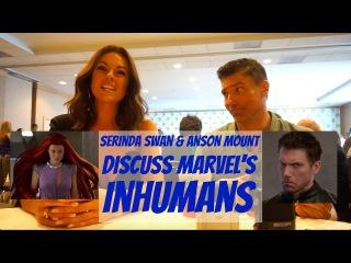 SDCC 2017: Serinda Swan & Anson Mount Talk INHUMANS