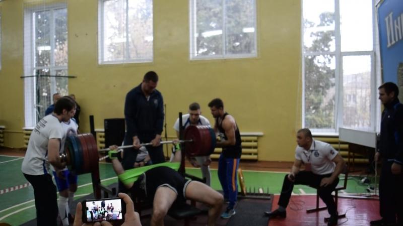 Лелёкин Николай, 282.5кг (софт-экипировка)