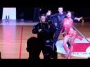 Artyom Liaskovsky Kseniya Zaputryaeva (ISR) - 1/2 Cha Cha (Int. Open Kavala 2017)