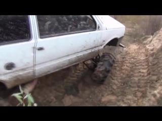 Ока 4х4 vs болото  - Русский вездеход