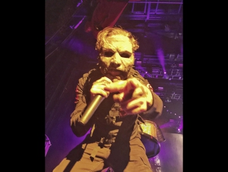 Slipknot - surfacing (corey hits me) (пенсакола / pensacola) (29.04.2015)