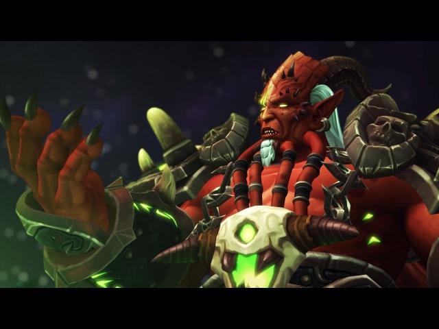 World Of Warcraft Legion. Гробница Саргераса - вступительный ролик 7.2. 23.03.2017