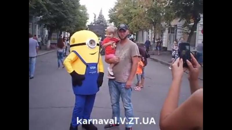 Ростовая кукла Миньон (Посіпака) - прокат в Житомире