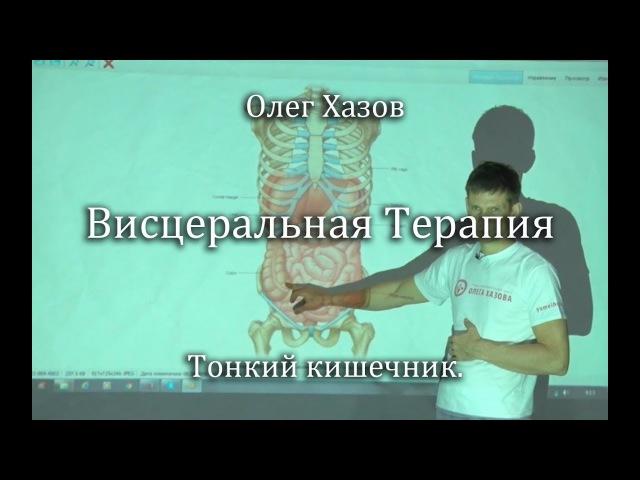 Висцеральная терапия Тонкий кишечник Олег Хазов
