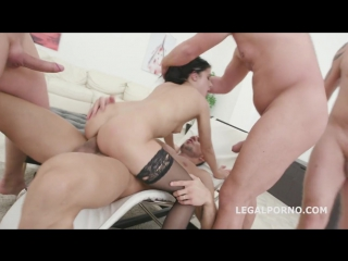 Nicole Black 6th Lesson 4on1 Balls Deep Anal & DP DAP Messy Cumshot With Swallow... she is almost ready to roll GIO518_720p
