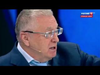 Жириновский устроил разгром гостям из Украины и Польши-Про аренду Крыма-60 минут.mp4