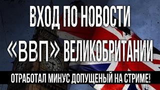 ВВП Великобритании | Торговля по новостям | Стратегия для торговли на Биномо Олимп Трейд.