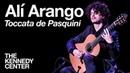 Classical guitarist Alí Arango Toccata de Pasquini LIVE at The Kennedy Center