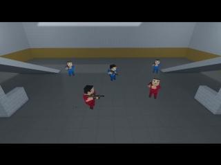 Танец нубов в Блок Страйк -D - Угар -D - Block