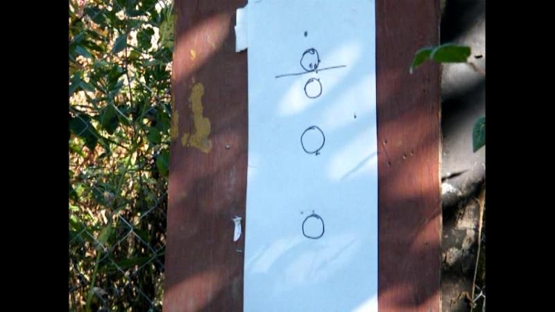 Поставил ГП проба отстрела пулек на 30м H FT 0 58 Gama Magnum 0 49 и Квинтор 0 53