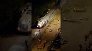 Ночной дебош в Пензе