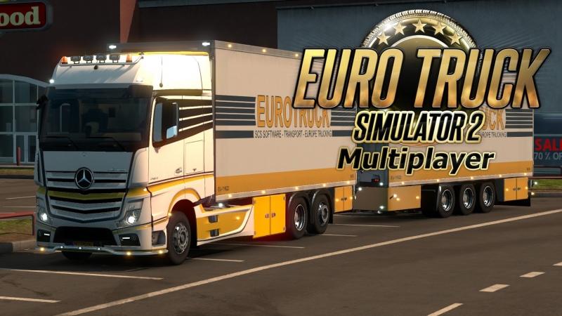 Euro Truck Simulator 2 / v 1.32.3.4s / 28-09-2018