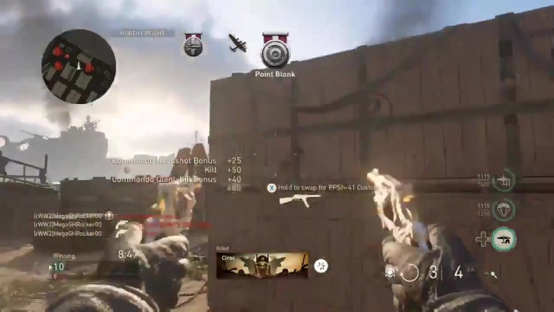 8 man feed with Dualist Escalation with the new Commando Division COD WWII