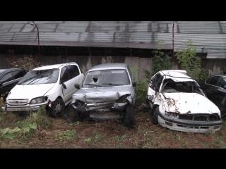 2 . Выставка разбитых авто