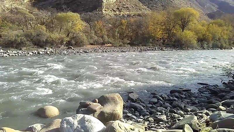 2 Река Андийское Койсу у села Гегатли-Урух, Цумадинский район, ноябрь 2018 | туризм в Дагестане