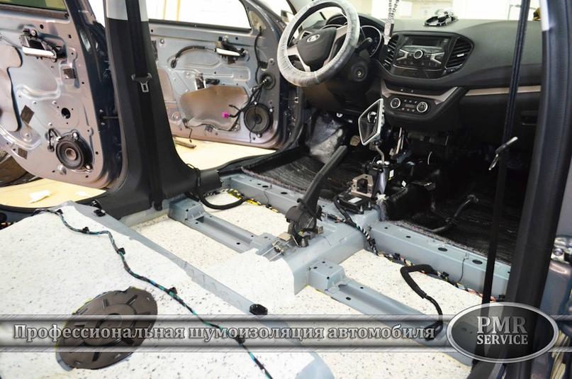 Шумоизоляция Lada Vesta, изображение №4