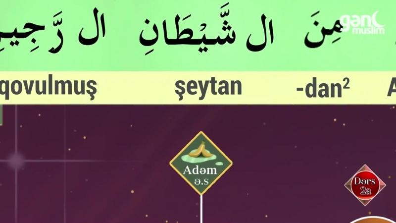 2a - Quran və Namazı anlamağın asan yolu - Ərəb dili dərsləri - Gənc Muslim.mp4