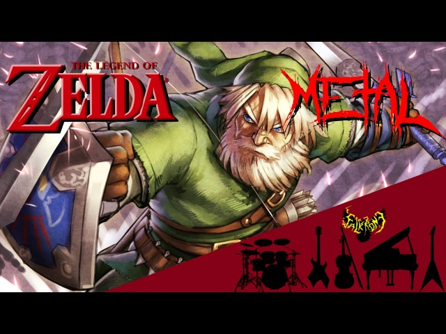 The Legend of Zelda - Song of Storms Windmill Hut 【Intense Symphonic Metal Cover】