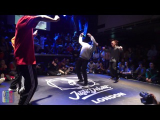 Toyin & Frankie J  vs  Willis & Diggy | Final | House | Juste Debout 2017 London