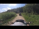 Покатушка на Cf-moto x8 и Stels Guepard 800