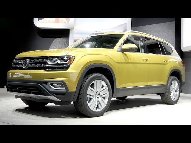 Volkswagen Atlas/Teramont: семиместный джумбо-кроссовер