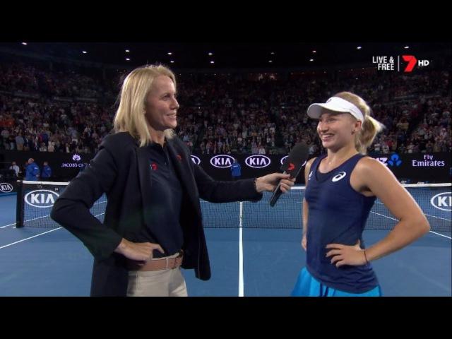 2017 Australian Open Round 3 Daria Gavrilova Vs Timea Bacsinszky