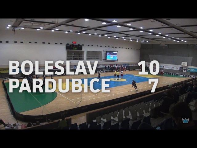 ČF POHÁRU ČESKÉ POJIŠŤOVNY 2016 17 Technology Florbal MB Sokol Pardubice 10 7