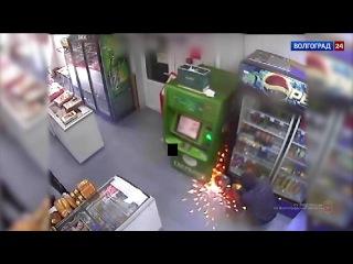 Зверское ограбление магазина. Волгоградская, Светлоярский район