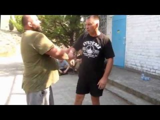 Systema - Hidden inner work and work with waves. Demonstrated with a master in Sambo and Judo.