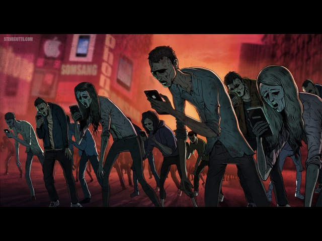Fever Ray - Keep The Streets Empty For Me (with Steve Cutts illustrations)