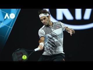 Roger Federer shot of the day | Australian Open 2017