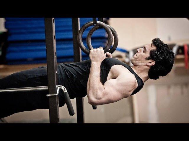 Henry Cavill Antje Traue Workout Man of Steel Featurette