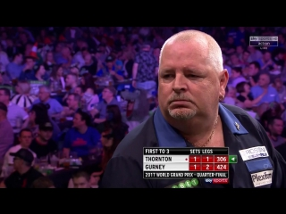 Robert Thornton vs Daryl Gurney (PDC World Grand Prix 2017 / Quarter Final)