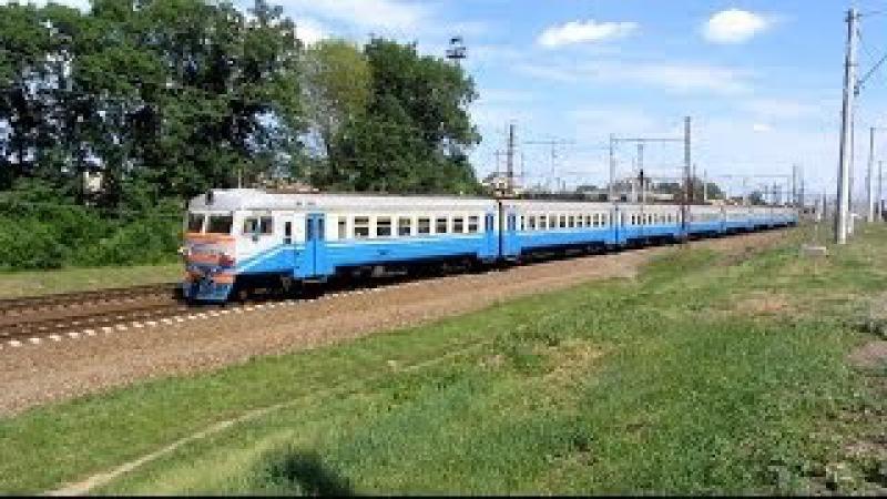 Електропоїзд ЕР2Р-7042, перегін Панютине — Лозова ПІВД.ЗАЛ.