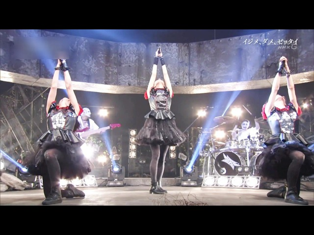 BABYMETAL Ijime Dame Zettai「イジメ、ダメ、ゼッタイ」Live combination 1080p