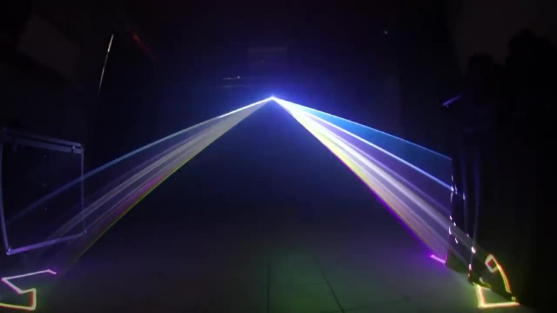 X Laser 720 RGB 2000mw Colorstage Animation
