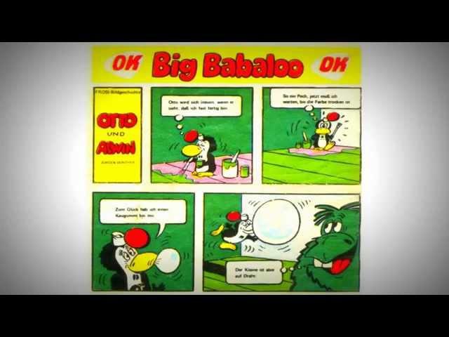 Жвачки ГДР Биг Бабало. Otto und Alwin. Big Babaloo.