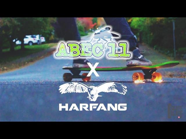 Harfang x Abec 11 Wheels Brandon Desjarlais On Fire