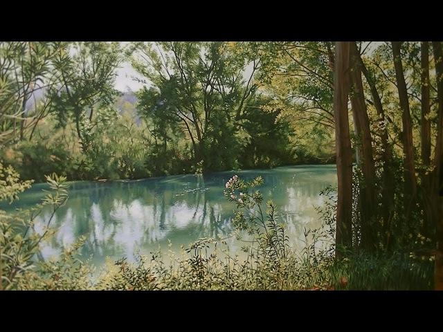 Pintura al óleo Un trozo de Naturaleza