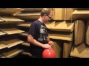 Popping a Balloon in an Anechoic Chamber