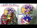 Traditional Heavy work Pagdi Pag Pagri Turban for Ladoo Gopal Kanha ji, janmastmi special,
