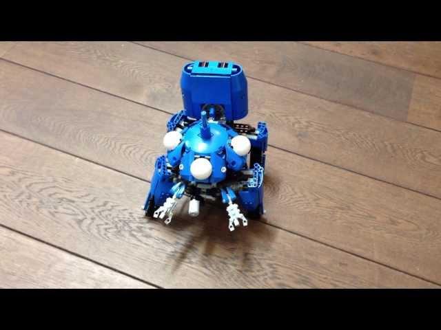 Lego Tachikoma on 11,1v LiPo battery