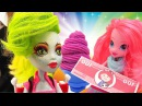 Кулинарный PlayDoh! Сборник игр для девочек. Пластилин Вкусняшки из Плей До Куклы
